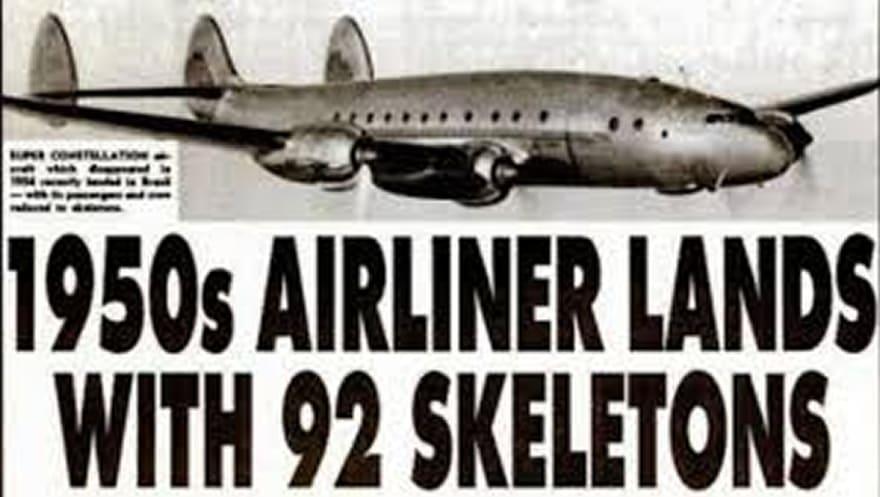 Avión aterrizó con 92 cadáveres a bordo… (VIDEO)