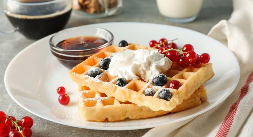 Día Nacional del Waffle 2019: ¡Disfruta con nosotros de estas 3 recetas!