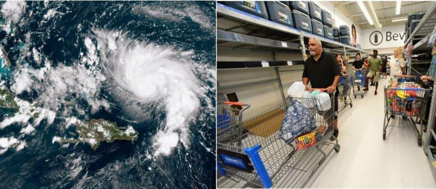 """Dorian: Florida espera al """"monstruo"""" y Georgia declara emergencia"""