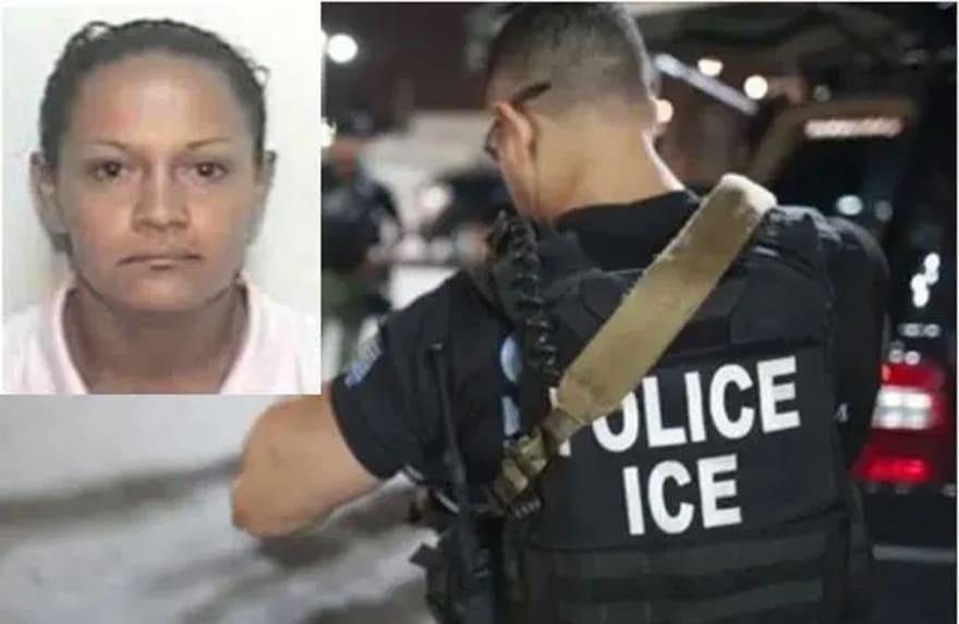 ICE está buscando a peligrosa pandillera hispana