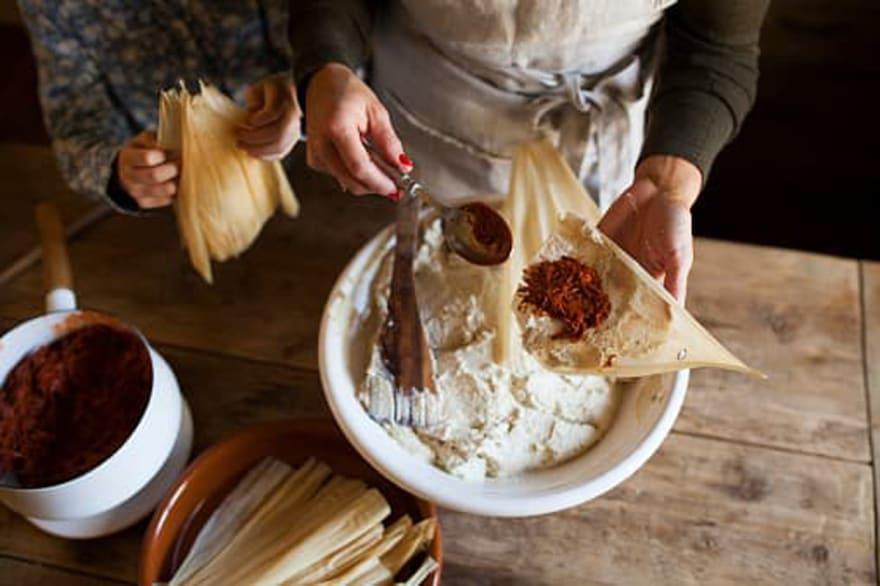Tips para principiantes a la hora de hacer tamales