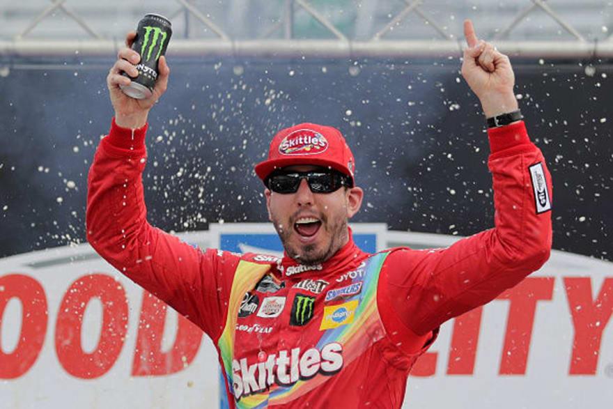 Kyle Busch ganó  en el Bristol Motor Speedway