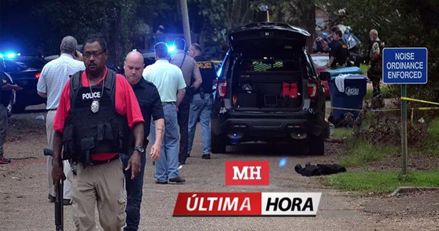 ÚLTIMA HORA: Confirman la muerte de dos policías por enfrentamiento en Mississippi