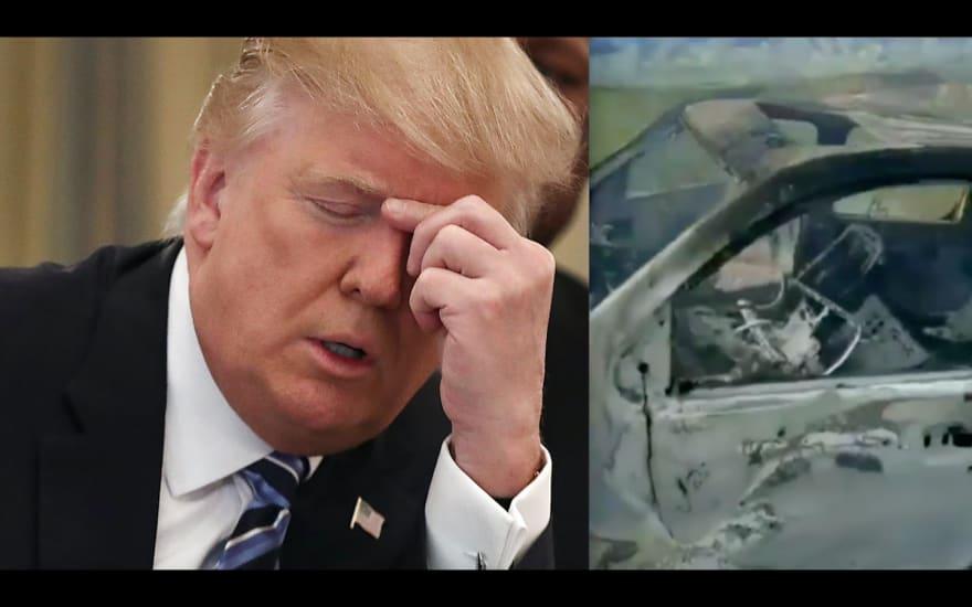 Trump LeBarón. Trump dice que la matanza en México demuestra la necesidad de un muro y atacar a narcos