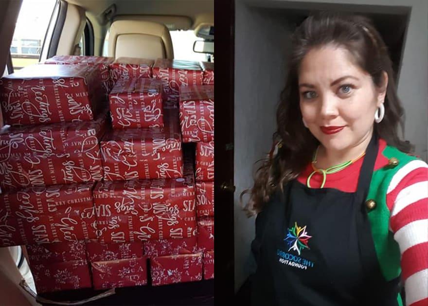 Texana detenida en México dice que volverá para dar regalos a migrantes