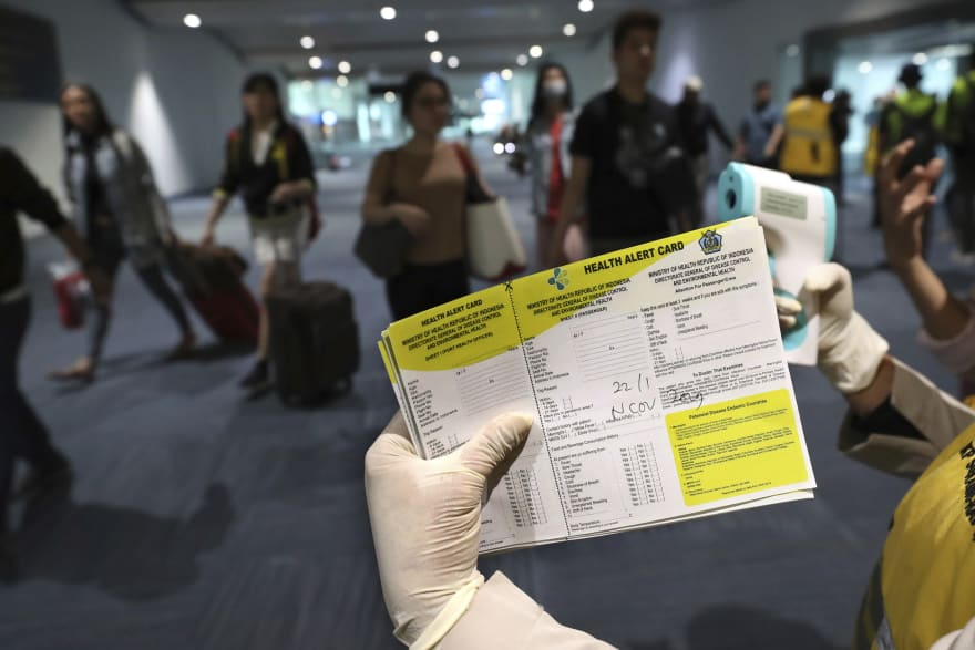 Coronavirus: Hospitalizan en Los Ángeles a pasajero de México por posible contaminación