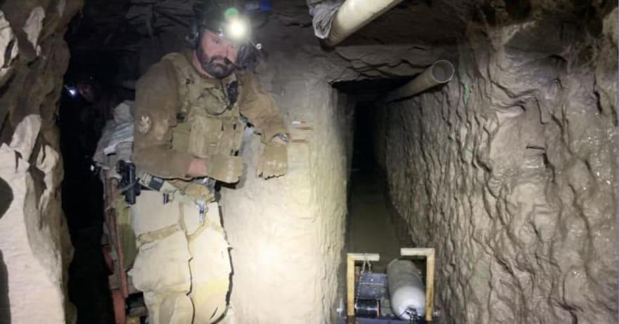 Revelan el mayor túnel clandestino transfronterizo en el área de San Diego