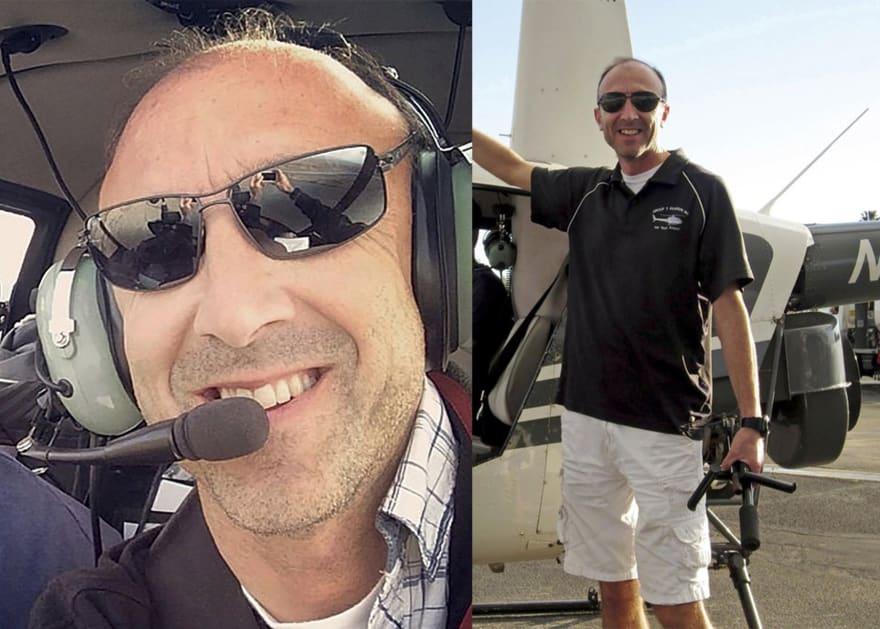 Piloto de helicóptero en accidente de Kobe Bryant cometió una violación aérea en 2015