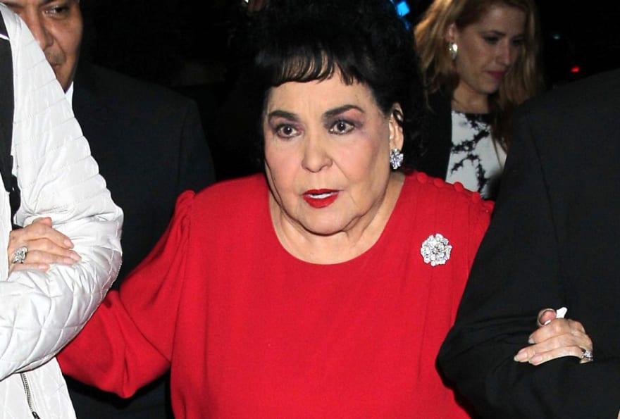 """Carmen Salinas está de luto por la muerte de Alejandro Algara, """"intérprete exclusivo"""" de Agustín Lara (FOTOS)"""