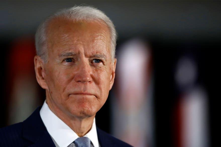 "Vicepresidente Biden sobre acusación de agresión sexual: ""Nunca, nunca sucedió"""