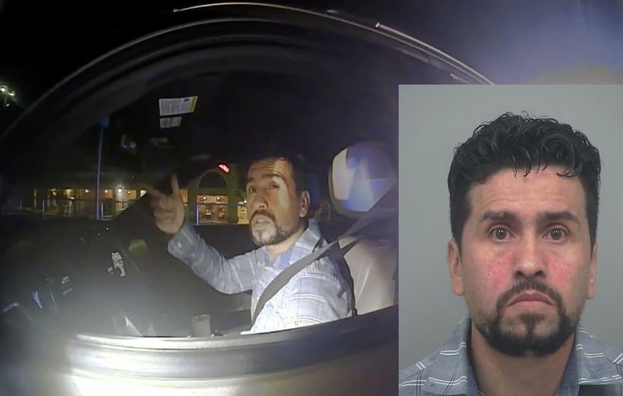 Crónica: arrestan a Eduin Pardo, conductor hispano, por pisar recio