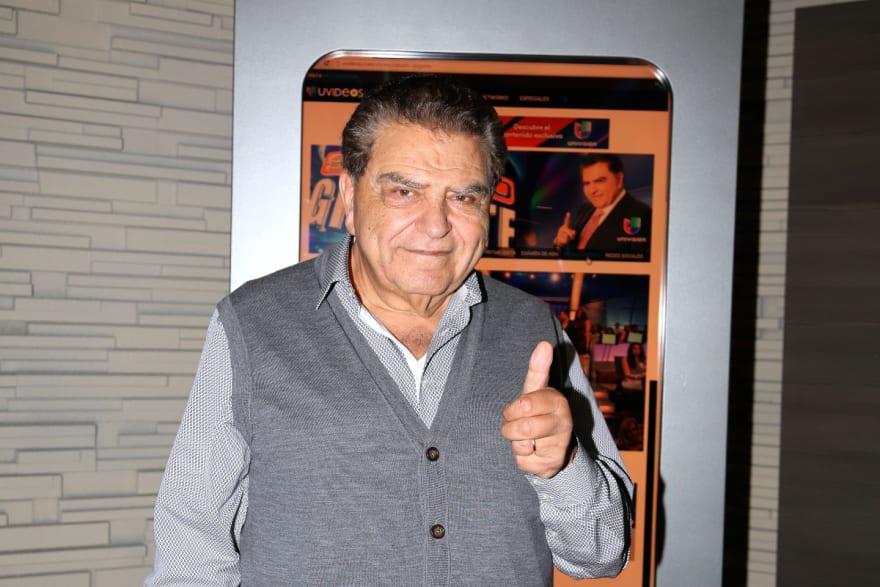 Don Francisco exhibe 'la verdad' de Jorge Ramos en plena entrevista con su novia Chiqui Delgado (VIDEO)