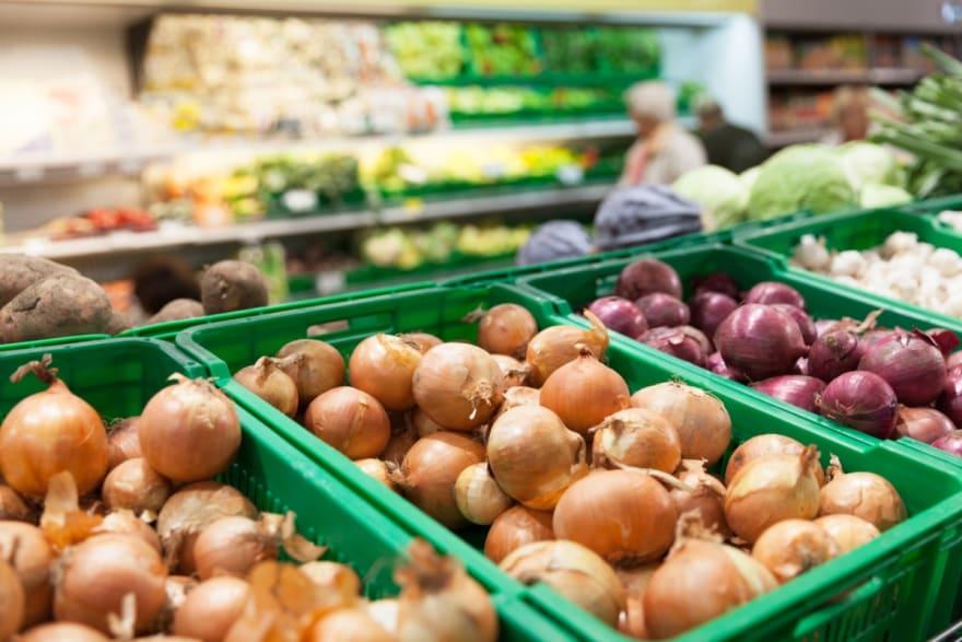 Brote de salmonella en cebollas se extienden a 43 estados