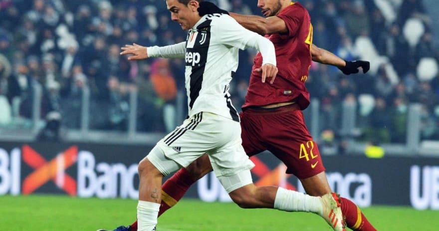 El Juventus doblega al Roma y se proclama campeón de invierno