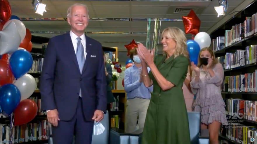 Demócratas nominan oficialmente a Joe Biden como candidato a la Presidencia