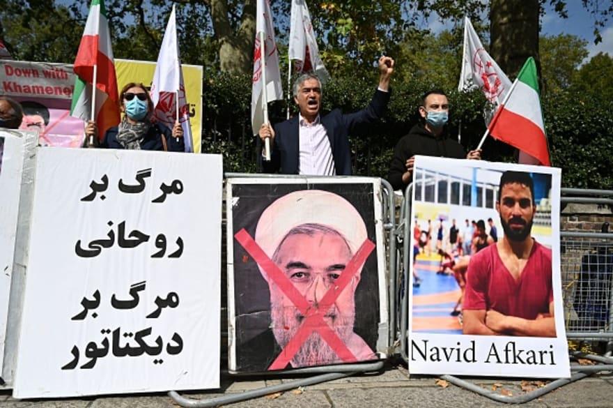 Irán ejecuta a un luchador por asesinato e incluso Trump pidió clemencia