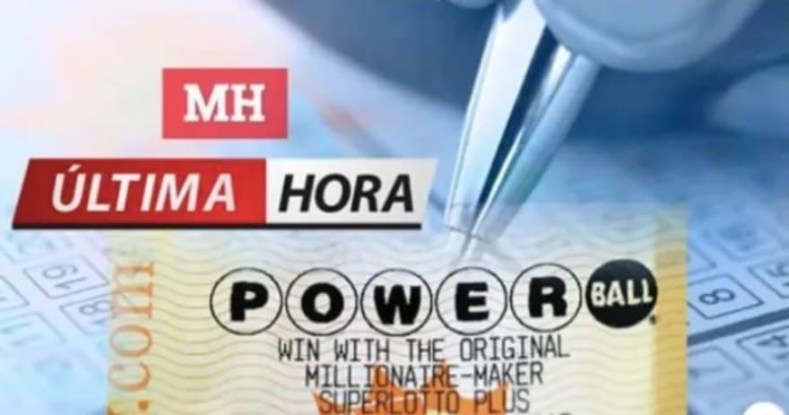 ¡Powerball! Publican números ganadores de sorteo del 30 de septiembre