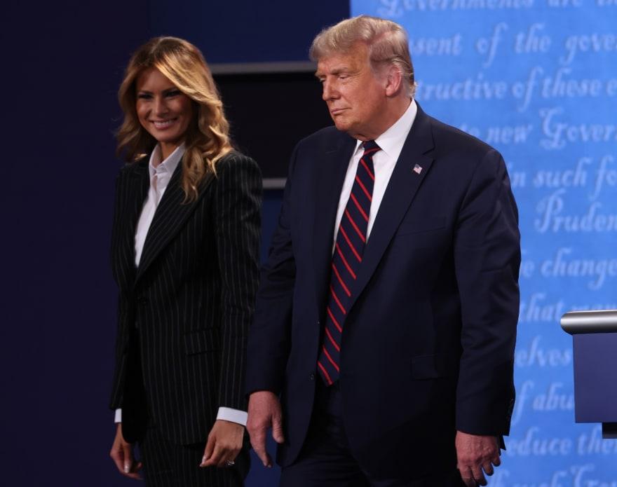 ÚLTIMA HORA: Trump y Melania esperan resultado de prueba del coronavirus