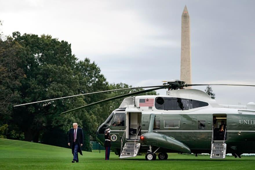 """Tras informar que sigue """"fatigado"""", Casa Blanca confirma traslado de Trump a hospital"""