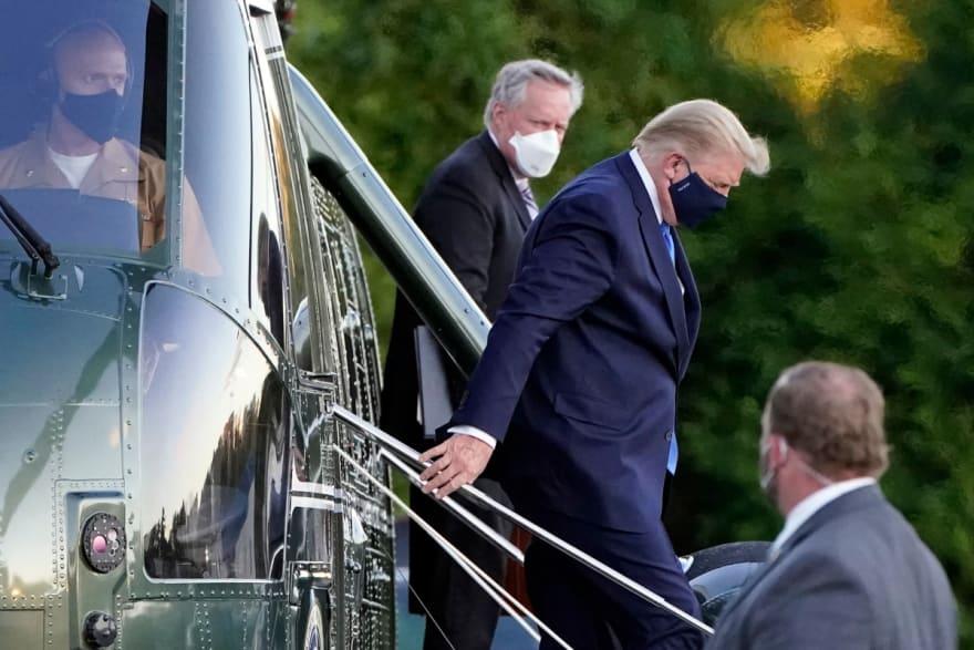 Sin fiebre, Trump completa segunda dosis de Remdesivir y la Casa Blanca lo muestra trabajando