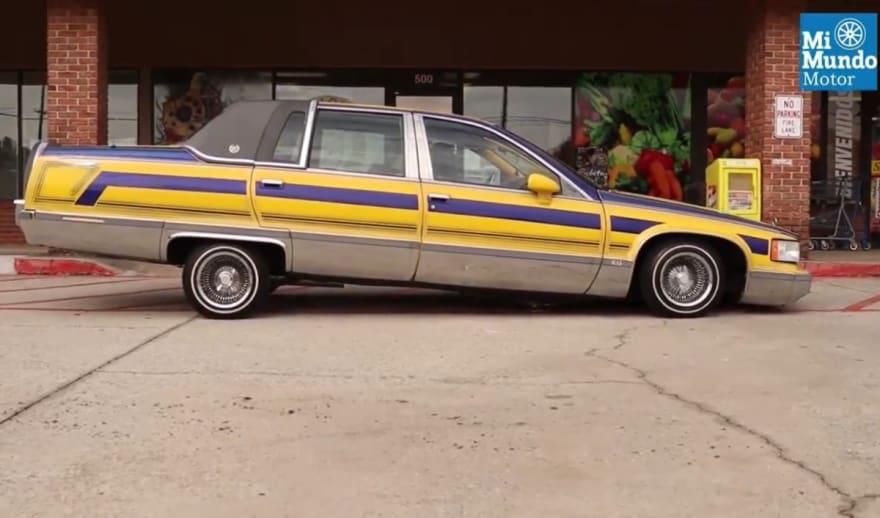 Este Cadillac 93 Lowrider deja bien parado a la Cultura Chicana