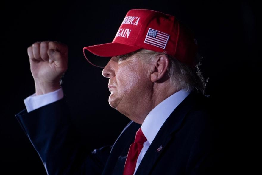 Trump asegura que no va a cantar victoria antes de tiempo