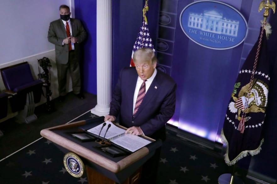 """""""Piensa pelear"""": Revelan cuál será el siguiente paso de Trump para crear """"imperio"""""""