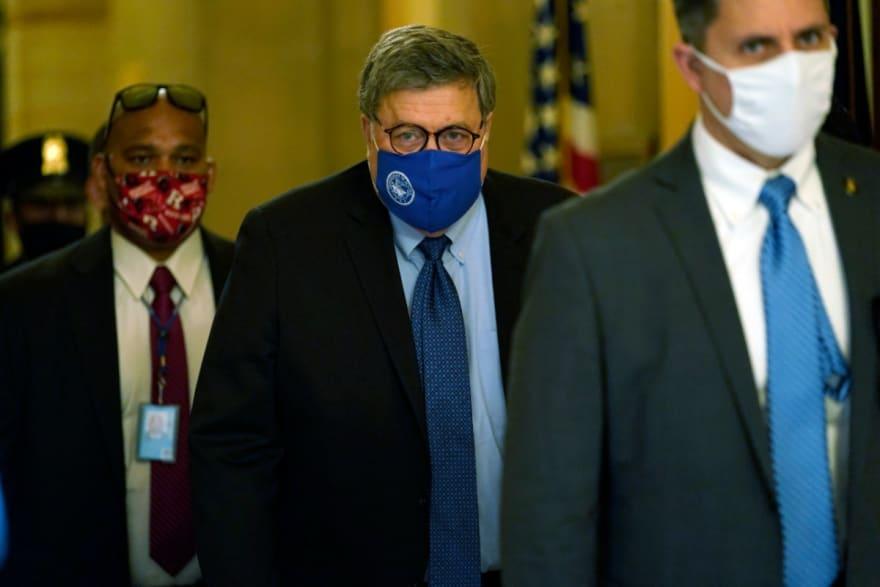 William Barr, secretario de Justicia, autoriza investigaciones sobre fraude en elecciones