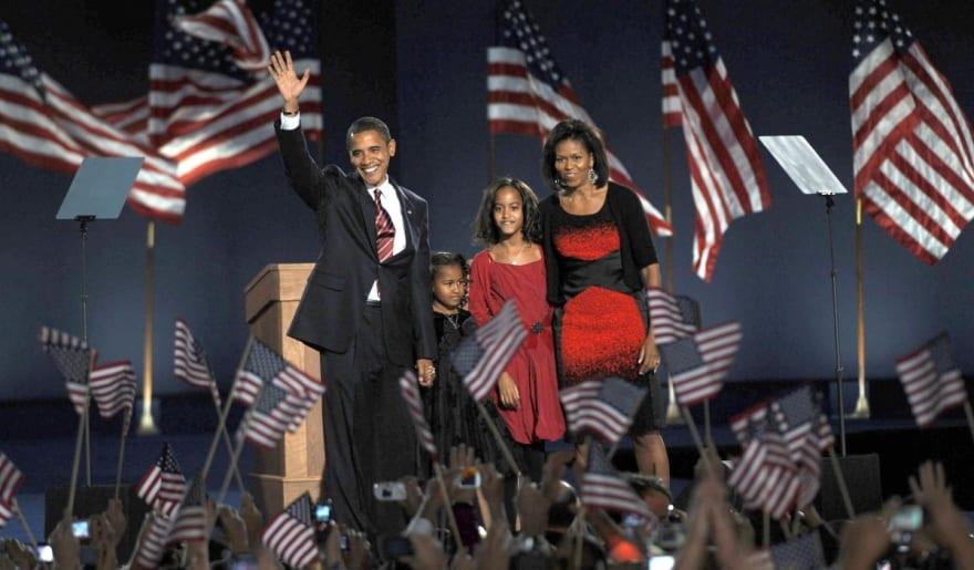 Obama habla de sus hijas y comparte foto familiar nunca antes difundida