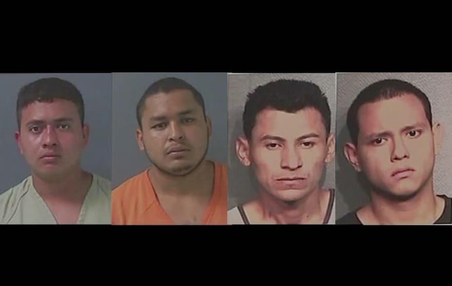 Pandilleros de la MS 13 enfrentan la pena de muerte por un asesinato a machetazos (FOTOS)