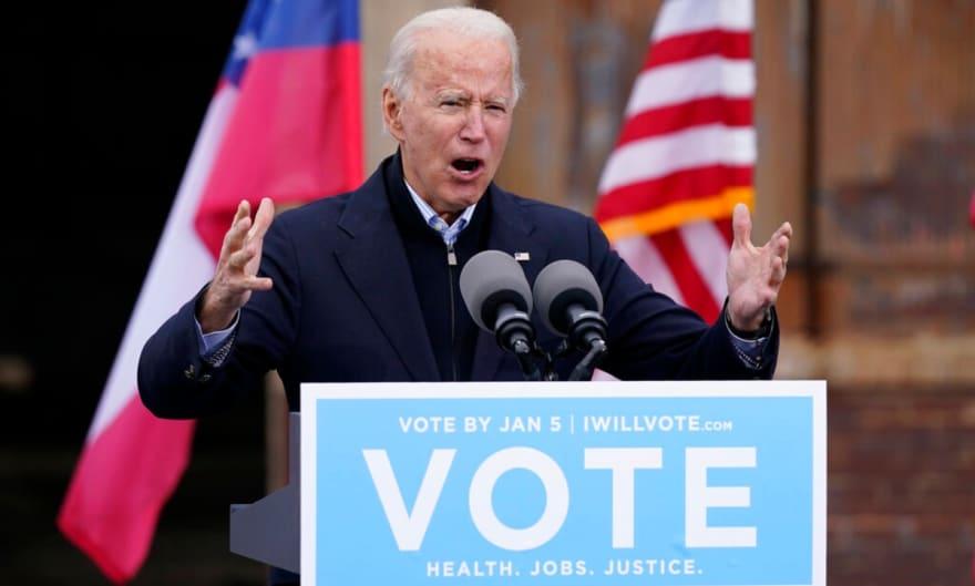 Biden dice que necesita un Senado demócrata para gobernar