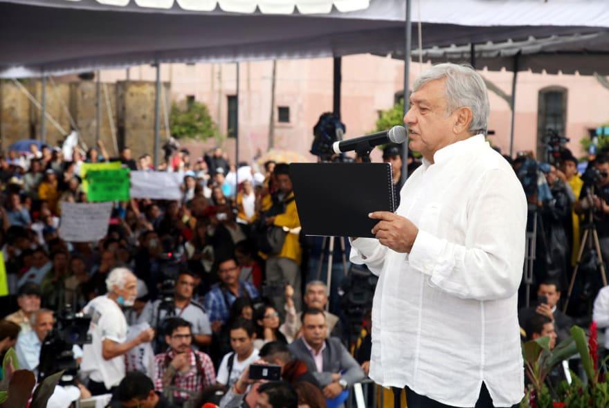 El presidente Trump habla bien de López Obrador