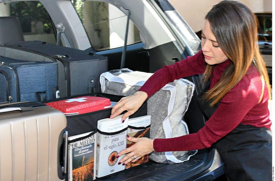 Siete consejos para acomodar tus cosas en el maletero del auto