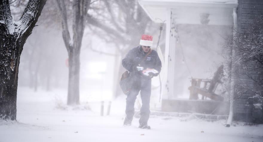 Tormenta invernal castiga a centro-norte de EE.UU. en Nochebuena y Navidad