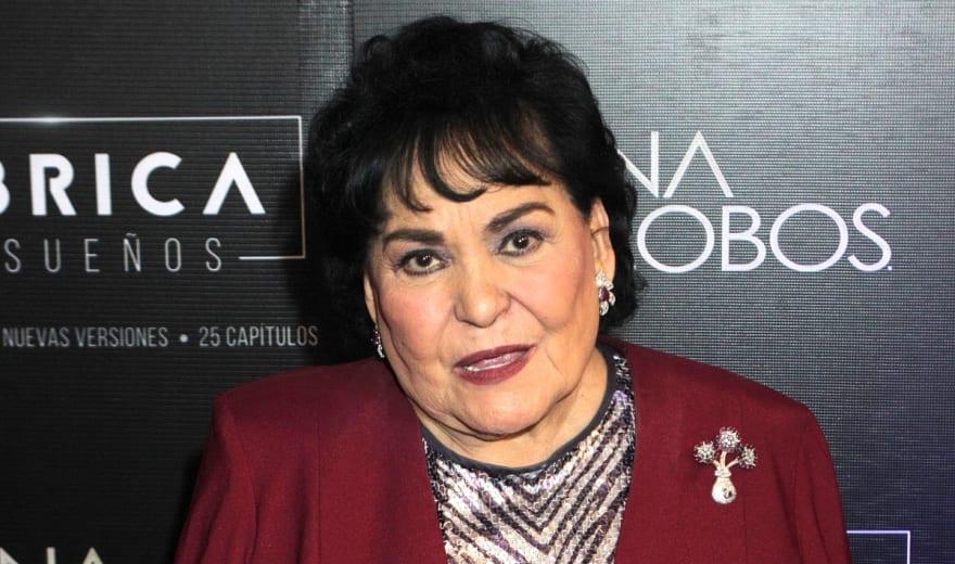 Carmen Salinas devastada tras muerte de su hermano