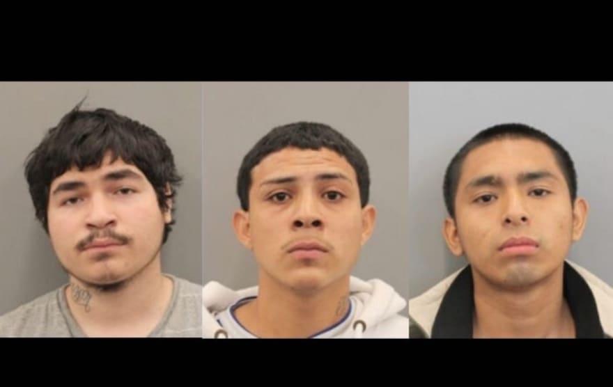 Tres jóvenes hispanos enfrentan pena de muerte por tres homicidios (FOTOS)