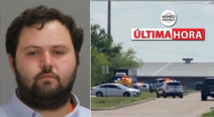 Revelan identidad del trabajador acusado de ser el autor del tiroteo en Bryan, Texas