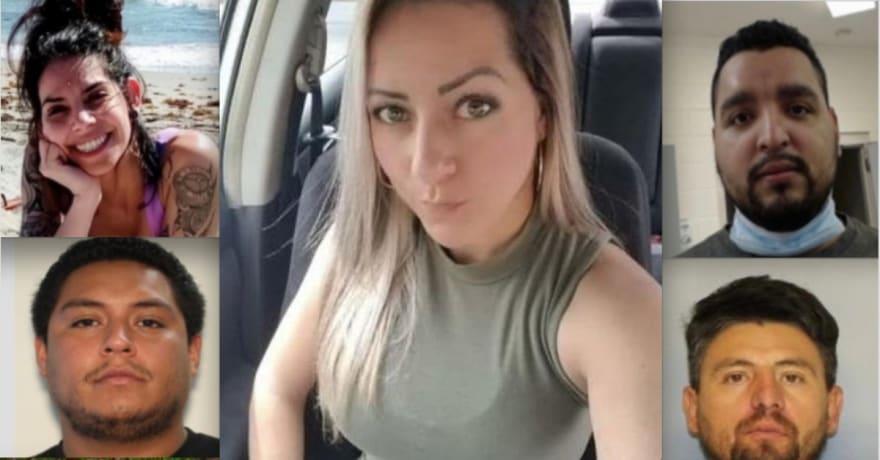 Esposo de Rossana Delgado vio a sospechosa del asesinato mientras buscaba a la hispana