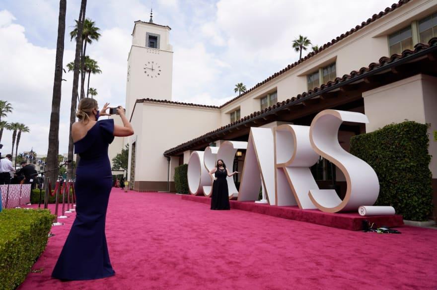 Alfombra roja de los Óscar 2021: la más vacía de la historia