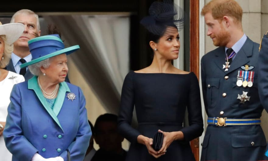 Familia Real reacciona al nacimiento de la bebé Lilibet Diana de Harry y Meghan