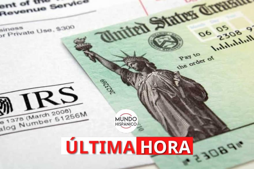 ÚLTIMA HORA: IRS revela el calendario de pagos del cheque por hijos