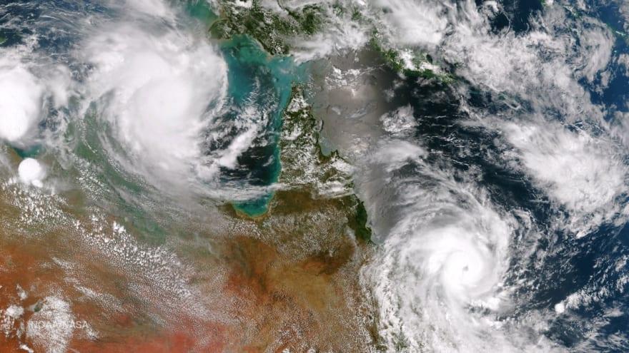 Declaran estado de emergencia por poderosa tormenta tropical en EEUU