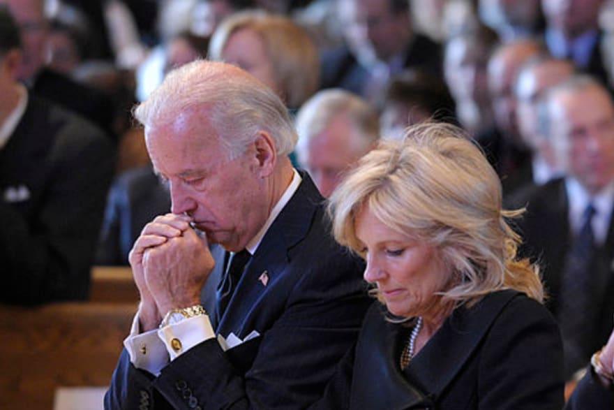 Joe Biden está de luto por muerte en la Casa Blanca