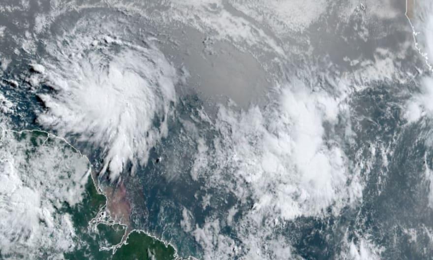 Tormenta tropical Elsa toca tierra en la costa suroeste de Cuba