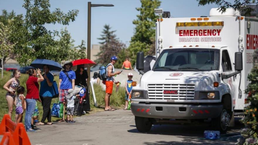 Potente ola de calor deja más de un centenar de muertos en EE.UU. y Canadá