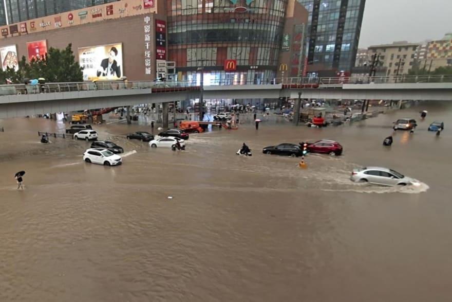 Aguaceros e inundaciones dejan al menos 25 muertos en China
