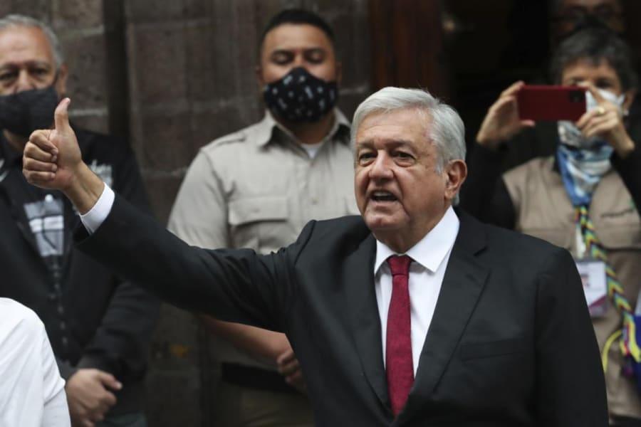 En pleno Día de la Independencia de México, AMLO hace inesperada petición a EEUU (VIDEO)