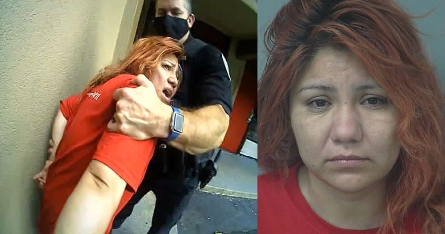 Crónica: Madre hispana se queda dormida afuera de motel