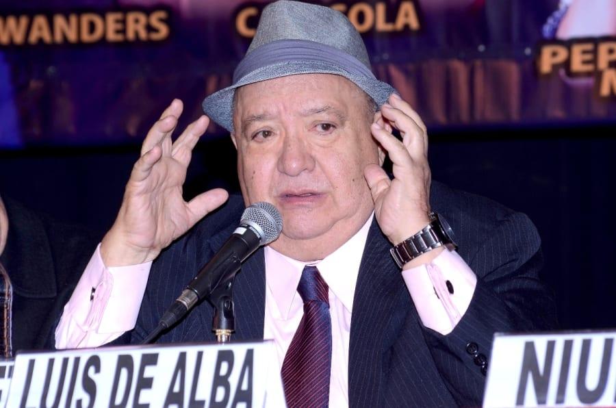 El comediante Luis de Alba es hospitalizado de emergencia