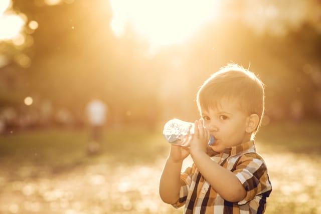 Hidratación del niño